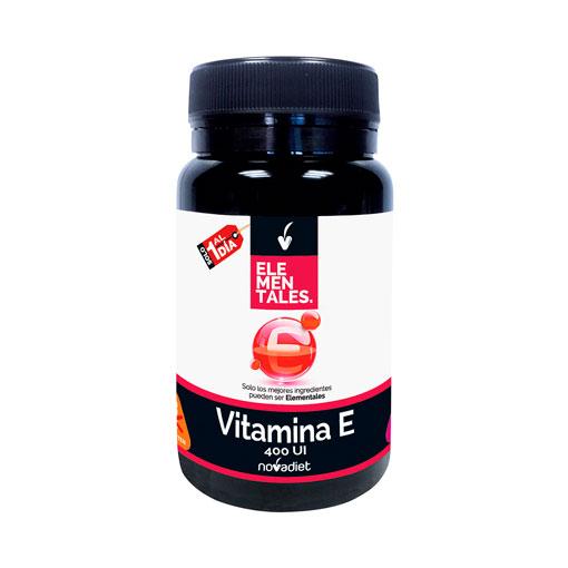 Cuidate con las vitaminas y minerales VITAMINA E 400UI 60 COMPRIMIDOS