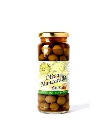 Descubre nuestros aperitivos y frutos secos ACEITUNAS MANZANILLA BIO 200grs