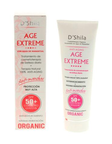 Cuidate con nuestros productos de línea facial AGE EXTREME ANTI-AGING SPF 50 60 ML