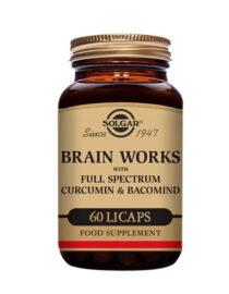 Cuidate con las vitaminas BRAIN WORKS 60 COMP