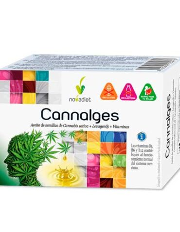 Relaja y controla tu sistema nervioso CANNALGES 30 CAP