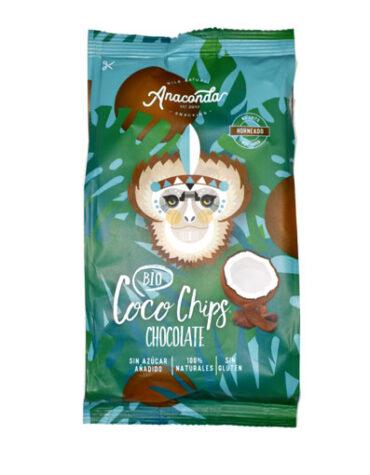 Descubre nuestros aperitivos y frutos secos CHIPS COCO Y CHOCOLATE BIO 60G