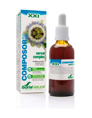 Seleccionamos las mejores extractos de plantas COMPOSOR 28 NERVAL COMPLEX 50 ml S. XXI