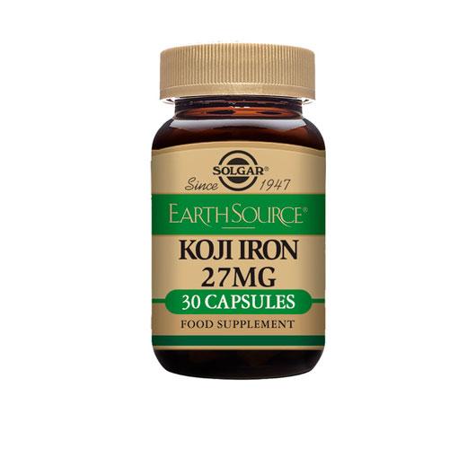Cuidate con los minerales EARTH SOURCE KOJI IRON 30 COMP