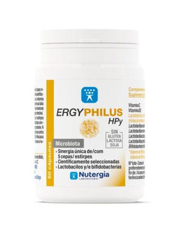Ayuda a tu digestivo con nuestros digestivos ERGYPHILUS HPY 60 CAPSULAS