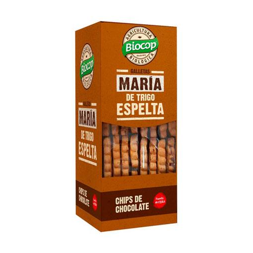 Disfruta de la repostería y chocolates GALLETA MARIA TRIGO ESPELTA CHIPS CHOCO 177G