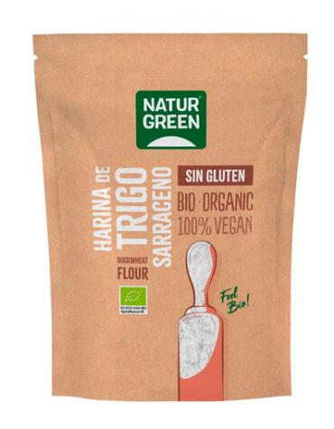 Descubre nuestras harinas y sémolas HARINA DE TRIGO SARRACENO Bio Sin Gluten 500 g