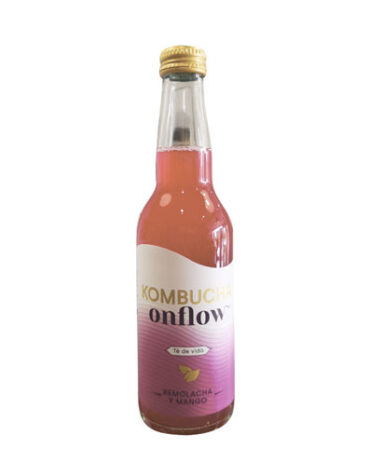 Descubre nuestras bebidas KOMBUCHA REMOLACHA Y MANGO 33CL BIO S/GLU