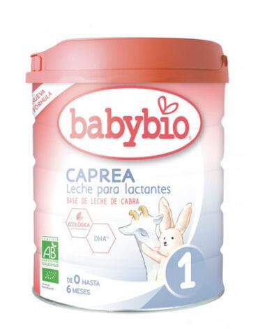 Cuida de los pequeños con nuestra alim infantil LECHE CABRA CAPREA 1 0-6 MESES ECO 800GR