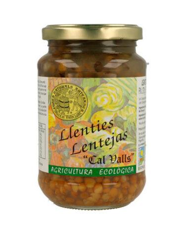 Descubre nuestras legumbres y verduras desecadas LENTEJAS CONSERVA BIO 450GR