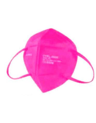 Cuidate con nuestros productos de sanitario MASCARILLA FFP2 CE FUCSIA