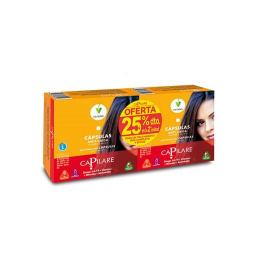 Cuidate con nuestros productos de línea capilar PACK CAPILARE 25% dto en la 2º und 2x 60caps