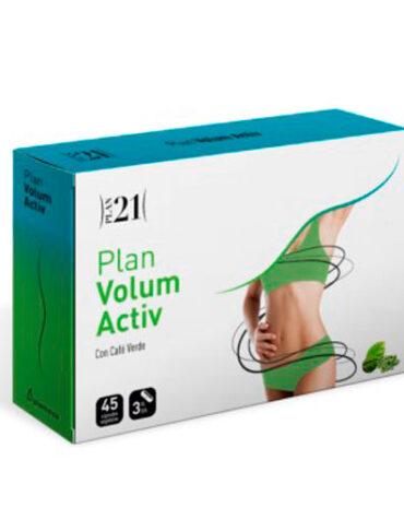 Para ayudar con el control de peso PLAN VOLUM ACTIV 45 CAP