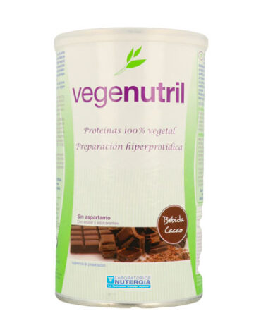 Para ayudar con el control de peso VEGENUTRIL DE SOJA CHOCOLATE BOTE 300GR