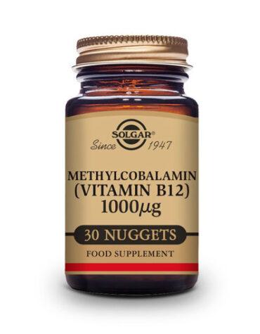 Cuidate con las vitaminas y minerales VITAMINA B12 METILCOBALAMINA 1000MCG 30 COMP. MASTICABLES