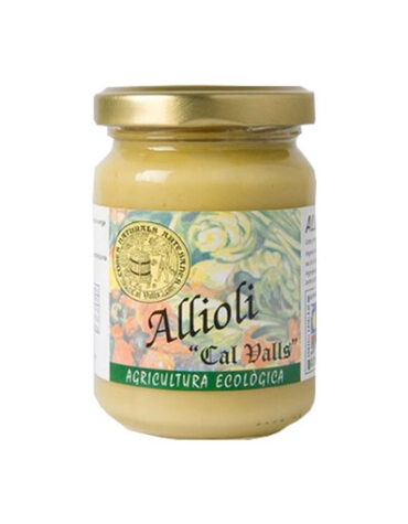 Descubre nuestras sales, condimentos y salsas ALIOLI BIO 130 GR