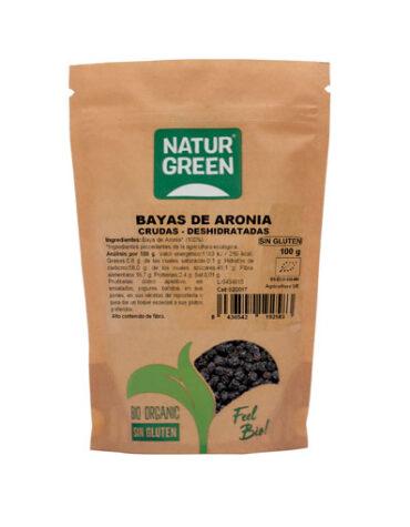 Descubre nuestros aperitivos y frutos secos BAYAS DE ARONIA BIO 100GR