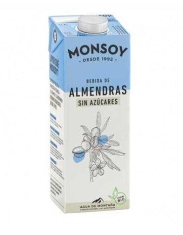 Descubre nuestras bebidas BEBIDA DE ALMENDRAS SIN AZUCARES BIO 1 l