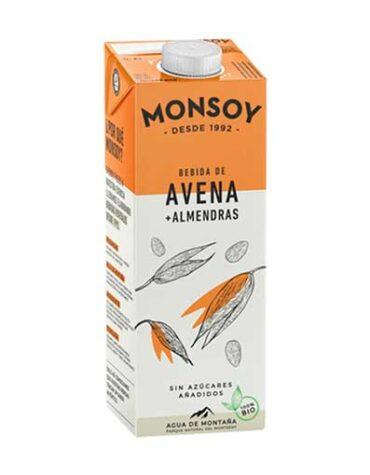 Descubre nuestras bebidas BEBIDA DE AVENA CON ALMENDRA 1L