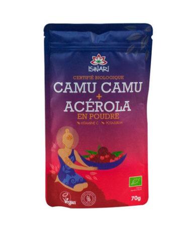 Descubre superalimentos CAMU CAMU + ACEROLA ECO 70GR