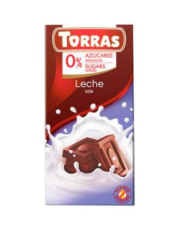 Disfruta de la repostería y chocolates CHOCOLATE CON LECHE SIN AZÚCAR, 75 g