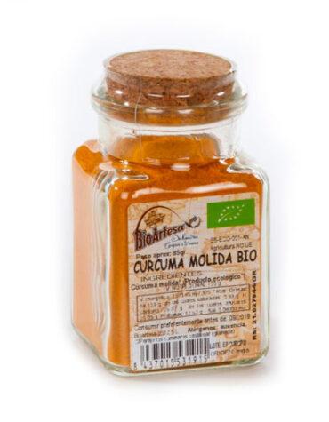 Descubre nuestra variedad de granos y semillas CURCUMA MOLIDA 85 grs BIO