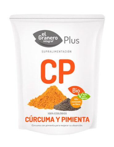Descubre la comida macrobiótica CURCUMA Y PIMIENTA BIO, 200 g