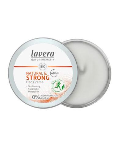 Cuidate con nuestros productos de línea corporal DESODORANTE CREMA 48H NATURAL & STRONG BIO 50ML