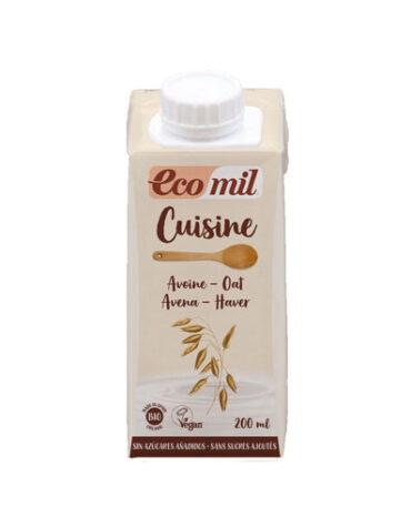 Descubre nuestras sales, condimentos y salsas ECOMIL CUISINE OAT AVENA 200ML BIO
