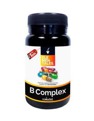 Cuidate con las vitaminas ELEMENTAL B COMPLEX 60 CAP