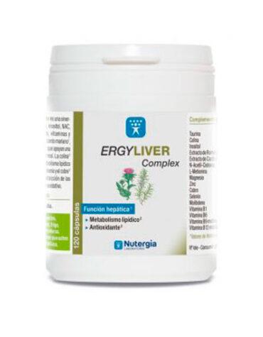 Desintoxica con los depurativos ERGYLIVER COMPLEX 120 CAPSULAS