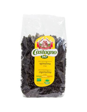 Disfruta del arroz y pasta ESPIRALES DE TRIGO CON ESPIRULINA ECO 500G