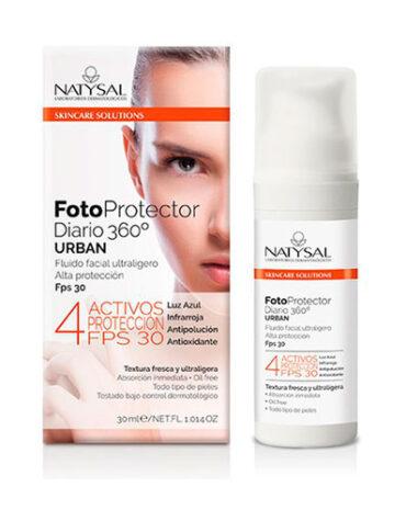 Cuidate con nuestros productos de línea facial FOTOPROTECTOR DIARIO FPS30 360º 30ML