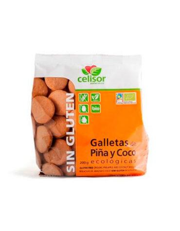 Descubre nuestros productos para celiacos GALLETAS PIÑA-COCO BIO CELISOR