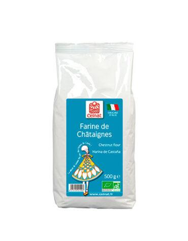 Descubre nuestras harinas y sémolas HARINA DE CASTAÑA BIO 500GR