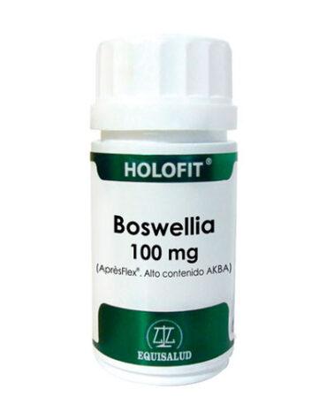 Cuida de tus huesos y articulaciones HOLOFIT BOSWELLIA 100 MG 50 CAP