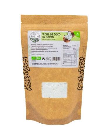 Disfruta de las bebidas solubles LECHE DE COCO EN POLVO ECO 200G
