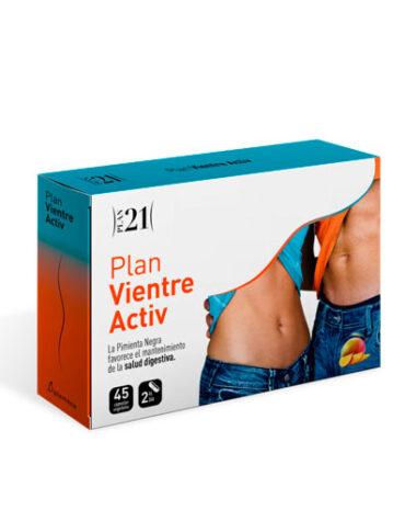 Para ayudar con el control de peso P21 PLAN VIENTRE ACTIV 45 CAP