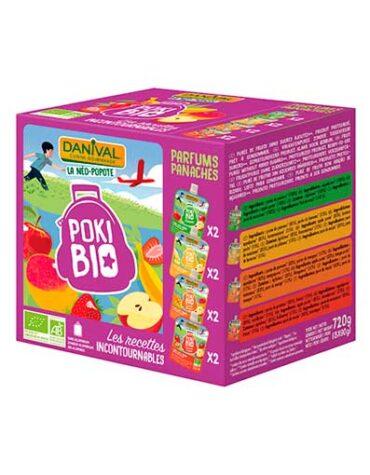 Cuida de los pequeños con nuestra alim infantil PACK 8 SMOOTHIES DE MANZANA, PLÁTANO, MANGO Y FRESA 720 g