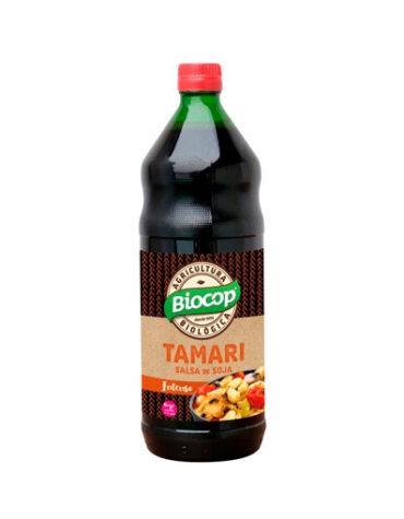Descubre nuestras sales, condimentos y salsas SALSA SOJA TAMARI BIOCOP 500 ML