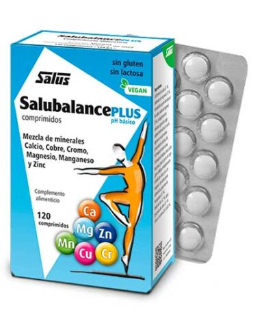 Relaja y controla tu sistema nervioso SALUBALANCE Plus 120comp