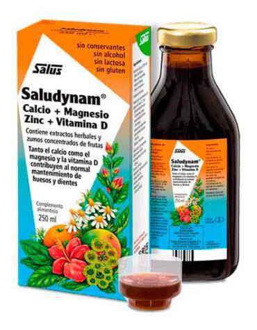 Cuidate con las vitaminas y minerales SALUDYNAM 250ml.