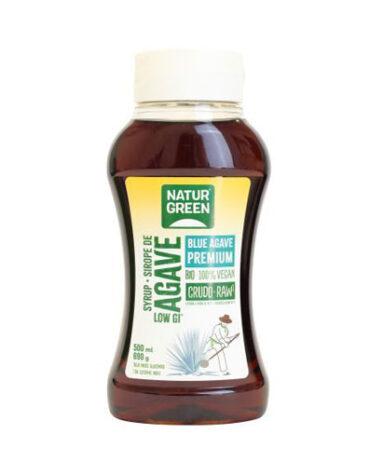 Pon tu punto dulce con azucar y endulzantes Sirope de Agave Crudo 500 ml/690g
