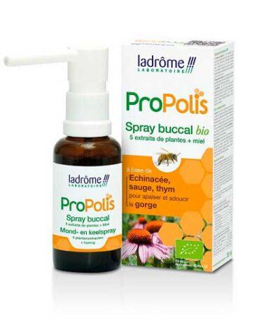 Alivia tu sistema respiratorio Spray Garganta Propolis Bio 30ml