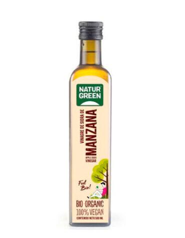 Descubre nuestras aceites y vinagres Vinagre Sidra de Manzana Bio 500 ml