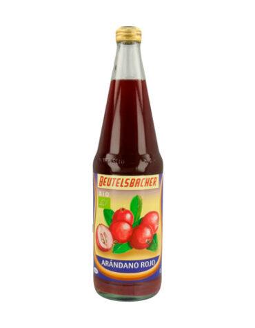 Descubre nuestras bebidas ZUMO ARANDANO ROJO ECO 700ML