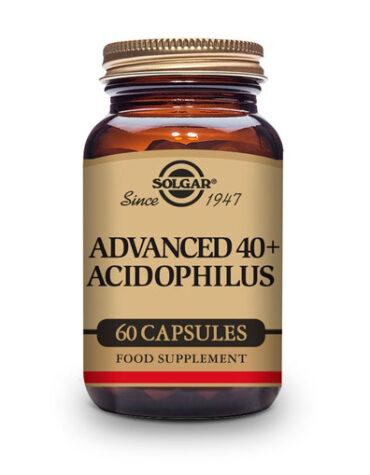 Ayuda a tu digestivo con nuestros digestivos 40+ ACIDOPHILUS AVANZADO NO LACTEO 60 CAP