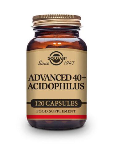 Ayuda a tu digestivo con nuestros digestivos 40 PLUS ACIDOPHILUS AVANZADO 120 VEGICAPS