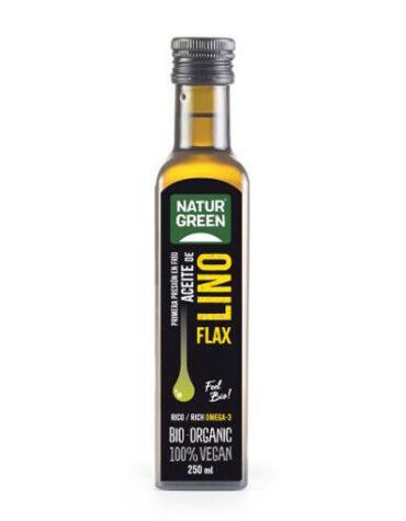 Descubre nuestras aceites y vinagres ACEITE DE LINO DHA BIO 250ML