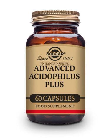 Ayuda a tu digestivo con nuestros digestivos ACIDOFILUS PLUS AVANZADO NO LACTEO 60 CAP VEG